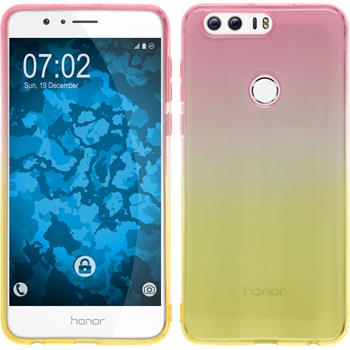 Silikon Hülle Honor 8 Ombrè Design:01