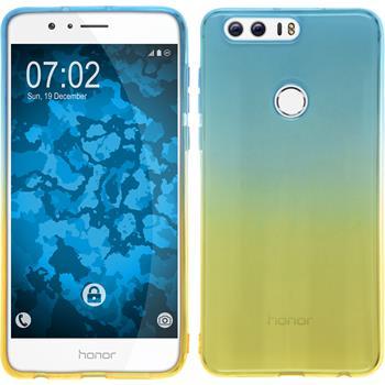 Silikonhülle für Huawei Honor 8 Ombrè Design:02