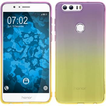 Silikon Hülle Honor 8 Ombrè Design:05