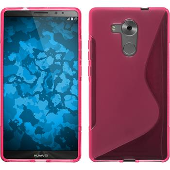 Silikonhülle für Huawei Mate 8 S-Style pink
