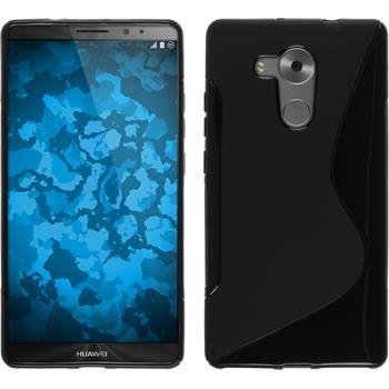 Silikonhülle für Huawei Mate 8 S-Style schwarz