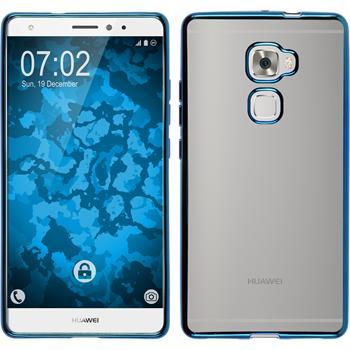 Silikonhülle für Huawei Mate S Slim Fit blau