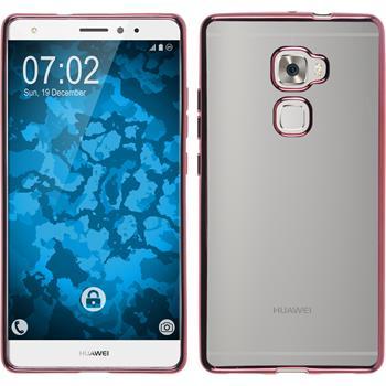 Silikonhülle für Huawei Mate S Slim Fit pink