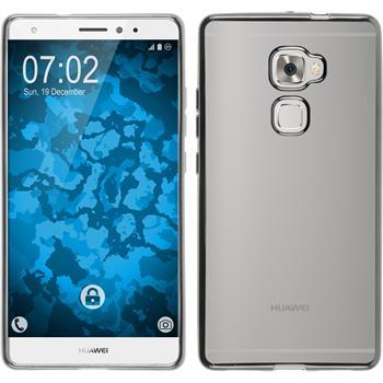 Silikonhülle für Huawei Mate S Slim Fit silber