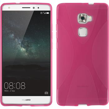 Silikon Hülle Mate S X-Style pink