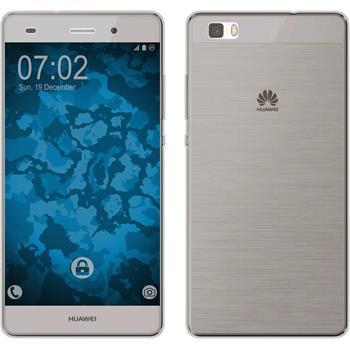 Silikonhülle für Huawei P8 Lite 360° Fullbody grau