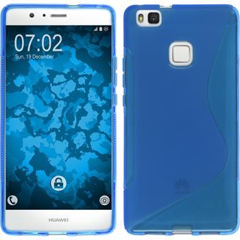 Silikon Hülle P9 Lite S-Style blau