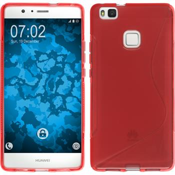 Silikon Hülle P9 Lite S-Style rot