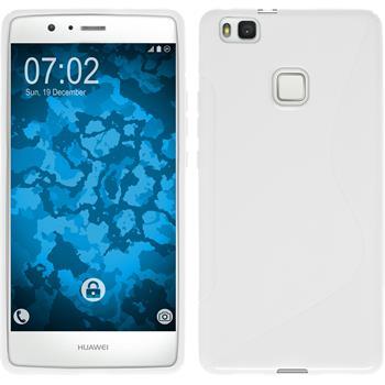 Silikon Hülle P9 Lite S-Style weiß