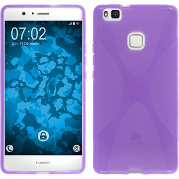 Silikonhülle für Huawei P9 Lite X-Style lila