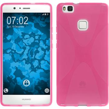 Silikon Hülle P9 Lite X-Style pink