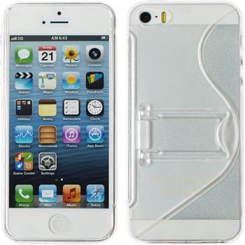 Silicone Case for Apple iPhone 5 / 5s S-Style transparent