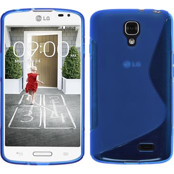 Silicone Case for LG F70 S-Style blue