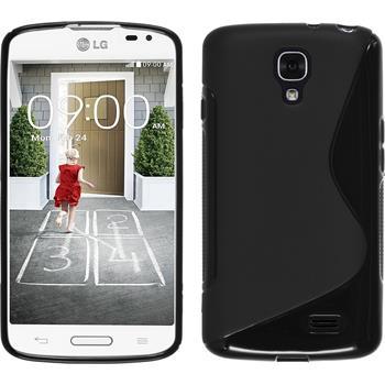 Silikonhülle für LG F70 S-Style schwarz