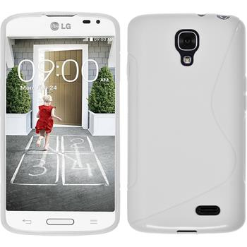 Silicone Case for LG F70 S-Style white
