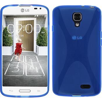 Silikon Hülle F70 X-Style blau