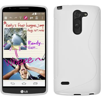 Silikon Hülle G3 Stylus S-Style weiß