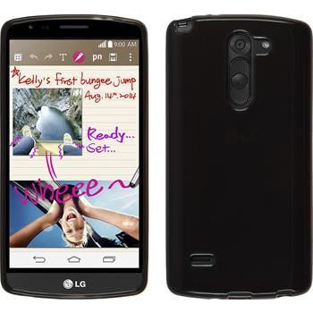 Silikonhülle für LG G3 Stylus transparent schwarz