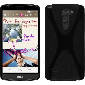 Silikon Hülle G3 Stylus X-Style schwarz