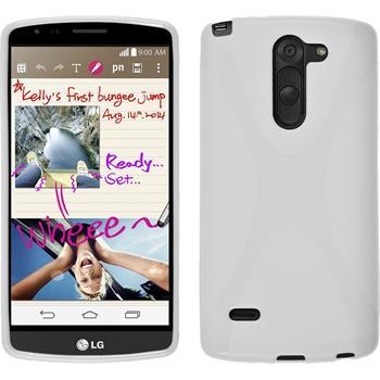 Silikon Hülle G3 Stylus X-Style weiß