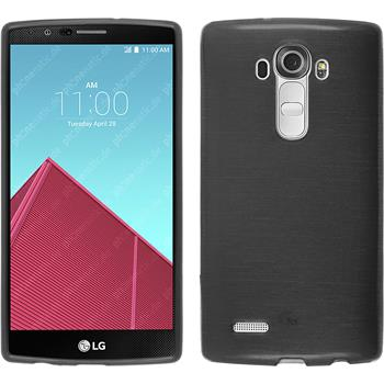 Silicone Case for LG G4 brushed silver