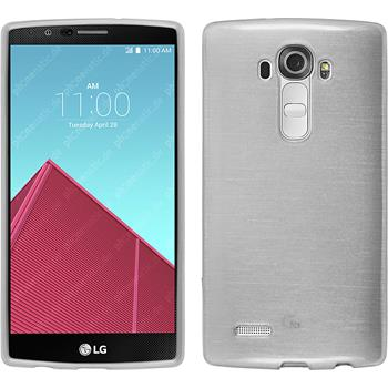 Silicone Case for LG G4 brushed white