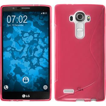 Silikon Hülle G4 S-Style pink