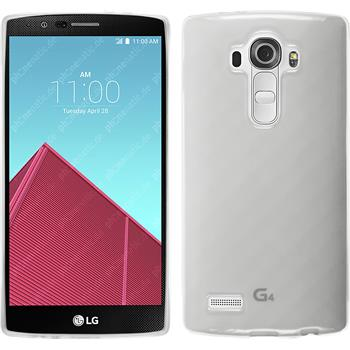Silicone Case for LG G4 transparent white