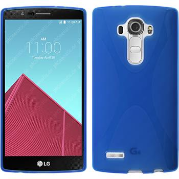 Silicone Case for LG G4 X-Style blue