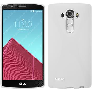 Silicone Case for LG G4 X-Style white