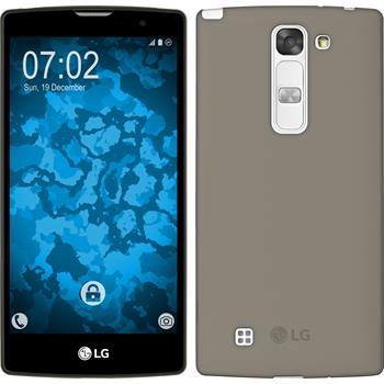 Silikonhülle für LG G4c Slimcase grau
