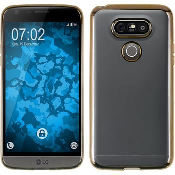 Silikon Hülle G5 Slim Fit gold