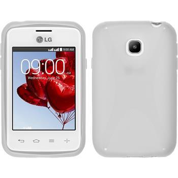Silikon Hülle L20 X-Style weiß