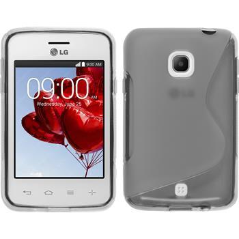 Silikonhülle für LG L30 S-Style clear