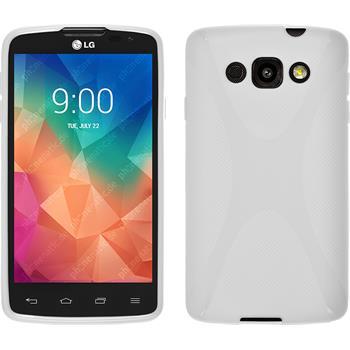 Silikonhülle für LG L60 X-Style weiß