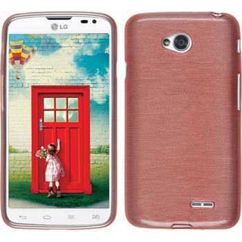 Silicone Case for LG L70 Dual brushed pink