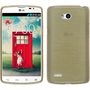 Silicone Case for LG L80 Dual brushed gold