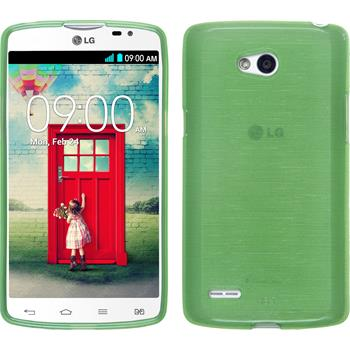 Silicone Case for LG L80 Dual brushed green