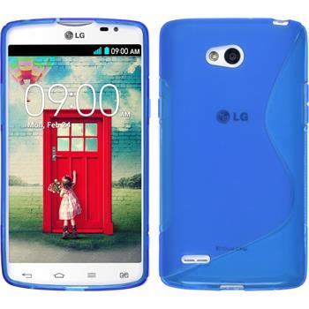 Silikon Hülle L80 Dual S-Style blau