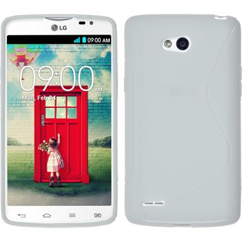 Silikonhülle für LG L80 Dual S-Style weiß
