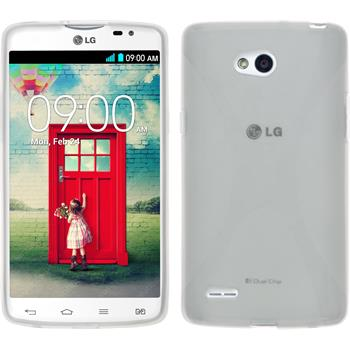 Silicone Case for LG L80 Dual X-Style transparent