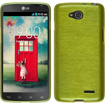 Silicone Case for LG L90 Dual brushed pastel green
