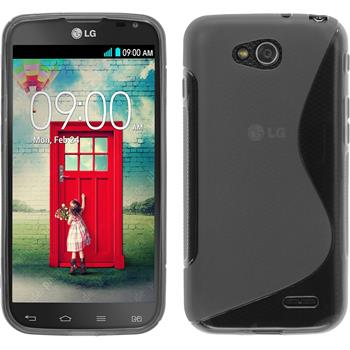 Silicone Case for LG L90 Dual S-Style gray
