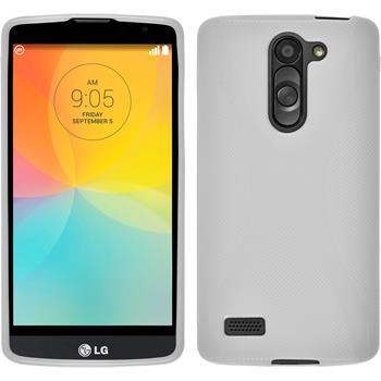 Silikonhülle für LG L Bello X-Style weiß