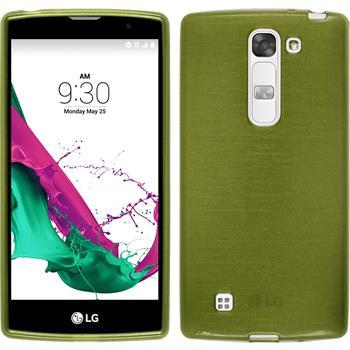 Silikonhülle für LG Magna brushed pastellgrün