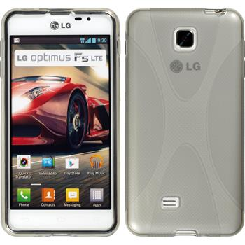 Silicone Case for LG Optimus F5 X-Style gray
