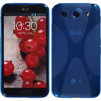 Silicone Case for LG Optimus G Pro X-Style blue