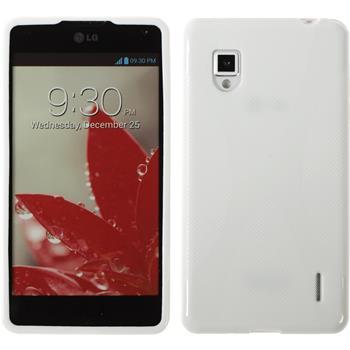 Silikonhülle für LG Optimus G X-Style weiß