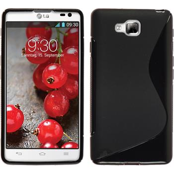 Silicone Case for LG Optimus L9 II S-Style black