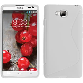 Silicone Case for LG Optimus L9 II S-Style white